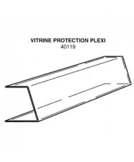 Vitrine de protection agencement croquis