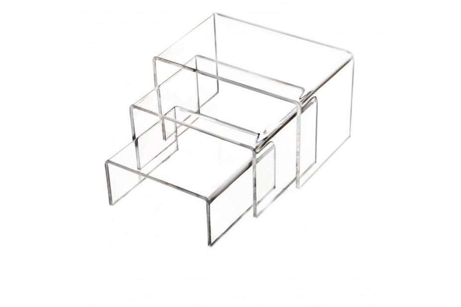 Table de présentation plexiglas Présentation
