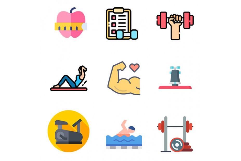 Stickers sport et fitness - stickers