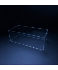 Bac plexiglas rectangle semi-rigide - Bac